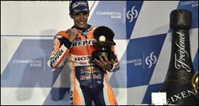 Márquez auf MotoGP-Podium!