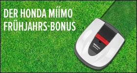 Honda Miimo Frühjahrsbonus