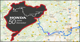 50 Jahre Honda Automobile in Deutschland – die große Jubiläumssternfahrt