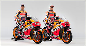 MotoGP Repsol-Honda Teamvorstellung